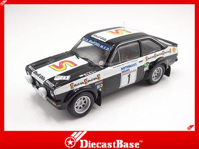 MDC028 MDC Ford Escorst MKII No.1 (Black Beauty) Manx Rally 1982 1:43