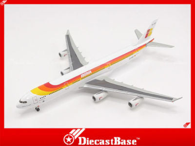 Hogan Wings HG9086 1/400 Iberia Airline Airbus A340-300 1:400 Commercial Aircraft Diecast Plane Model
