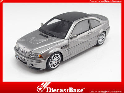 Premium X PR0027 1/43 BMW M3 CSL 2003 Steel Grey Metallic 1:43 Diecast Model Road Car