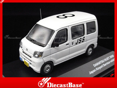 J-Collection JC226 Daihatsu Hijet 2009 Japan Airport Service Vehicle JSS 1:43