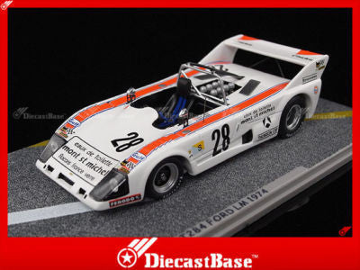 BIZARRE BZ147 1/43 Lola T284 Ford No.28 24 Hours of Le Mans 1974 Michel Dupont Scato Team LM Resin Model Racing Car