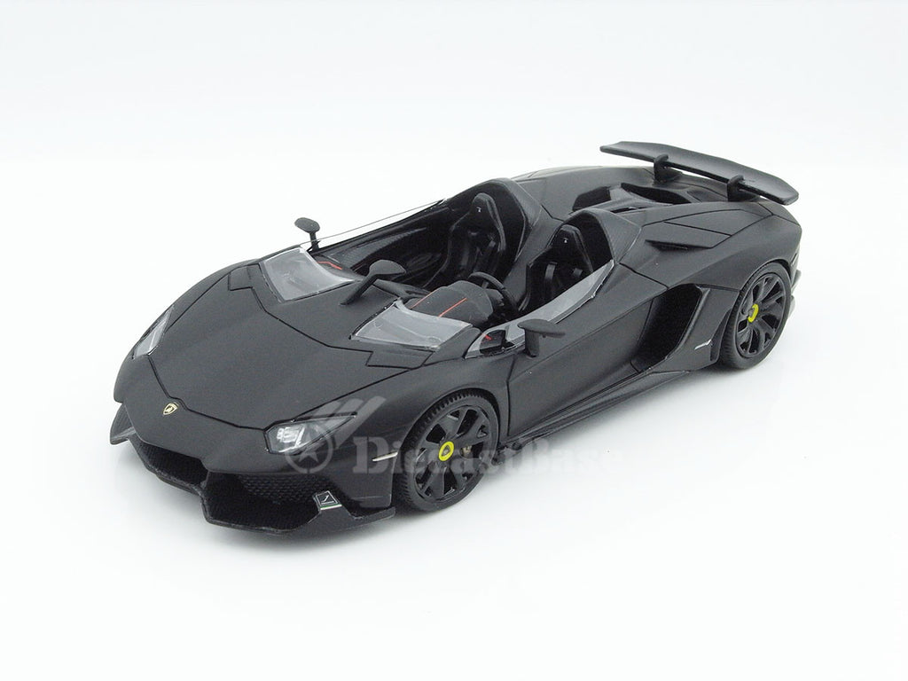 Gorgeous LB229 1/43 Lamborghini Aventador J Matte Black Passenger Resin Model Road Car