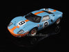 IXO LM1968 1/43 Ford GT40 Mk.I No.9 Winner 24 Hours of Le Mans 1968 S 5.0 Class J.W.Automotive Engineering Ltd.Team Pedro Rodriguez - Lucien Bianchi Gulf Racing IXO Models Diecast Model LM Racing Car