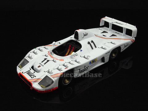 IXO LM1981 1/43 Porsche 936 No.11 Winner 24 Hours of Le Mans 1981 S+2.0 Class Porsche System Team Jacky Ickx - Derek Bell IXO Models Diecast Model LM Racing Car