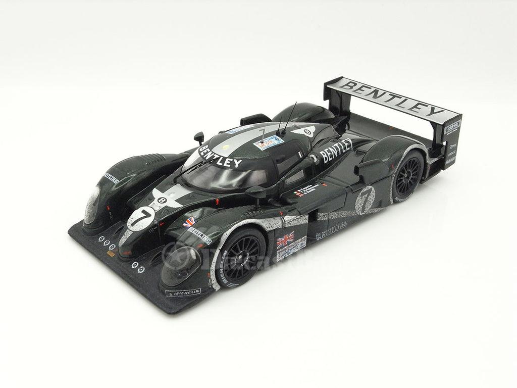 IXO LM2003B 1/43 Bentley Speed 8 #7 Team Bentley Winner Le Mans 2003 LMGTP Class Rinaldo Capello - Tom Kristensen - Guy Smith with dirty effects IXO Models Diecast Model LM Racing Car