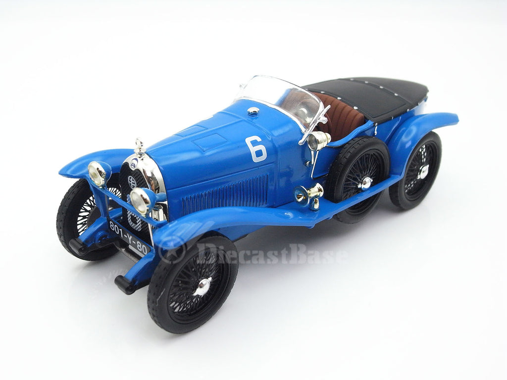 IXO LMC101 1/43 Lorraine-Dietrich B3-6 24 Hours of Le Mans 1925 5.0 Class No.6 Robert Bloch - Léon Saint Paul IXO Models Diecast Model LM Racing Car