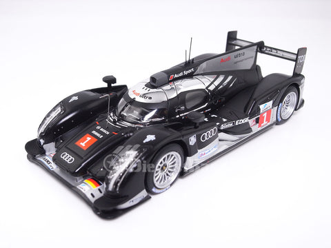 IXO LMM206 1/43 Audi R18 TDI No.1 24 Hours of Le Mans 2011 LMP1 Class Audi Sport Team Joest Timo Bernhard – Romain Dumas – Mike Rockenfeller IXO Models Diecast Model LM Racing Car
