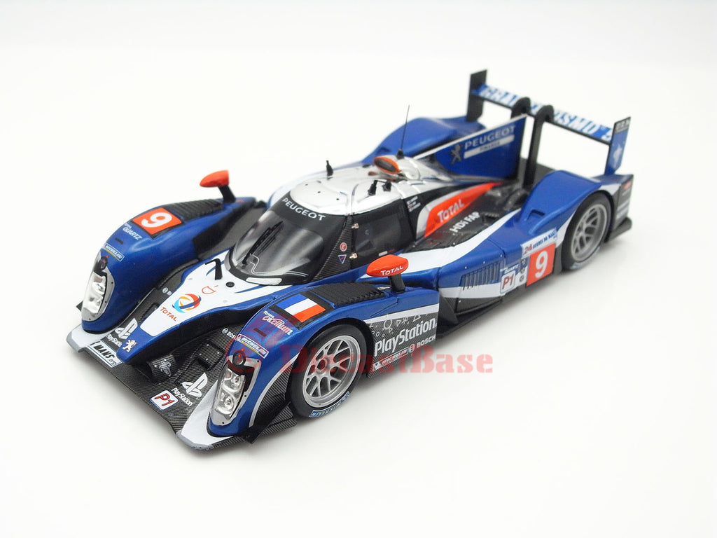 IXO LMM212 1/43 Peugeot 908 2nd 24 Hours of Le Mans 2011 LMP1 Class No.9 Team Peugeot Total Sébastien Bourdais - Simon Pagenaud - Pedro Lamy IXO Models Diecast Model LM Racing Car
