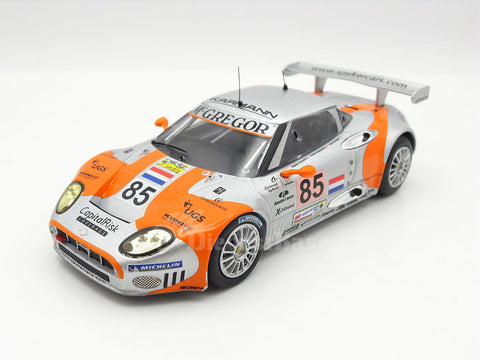 IXO LMM223P 1/43 Spyker C8 Spyder GT2-R No.85 24 Hours of Le Mans 2006 GT2 Class Spyker Squadron b.v. Team Donny Crevels - Peter Dumbreck - Tom Coronel IXO Models Diecast Model LM Racing Car