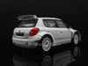 IXO MDCS004 1/43 Skoda Fabia S2000 2012 Rally Spec (2 Set Of Wheels And Tyres) - All White IXO Models Diecast Model Rally Racing Car