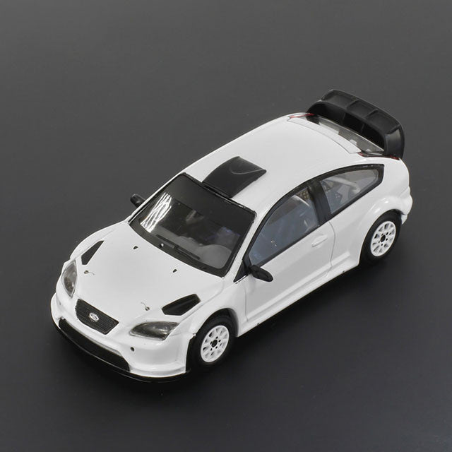1/43 Ford Focus RS WRC08 IXO MDCS008  ~ top view ~ taken by DiecastBase