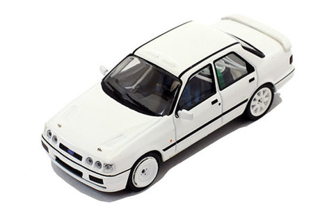 IXO MDCS010 1/43 Ford Sierra Cosworth 4x4 1991 Rally Spec All White Diecast Model Racing Car