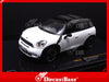 IXO MOC131 1/43 Mini Countryman Cooper S 2011 White & Black Diecast Model Modern Road Car