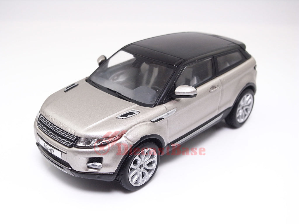 IXO MOC143P 1/43 Land Rover Range Rover Evoque 2011 3-Door Ipanema Sand and Black Diecast Model Road Car