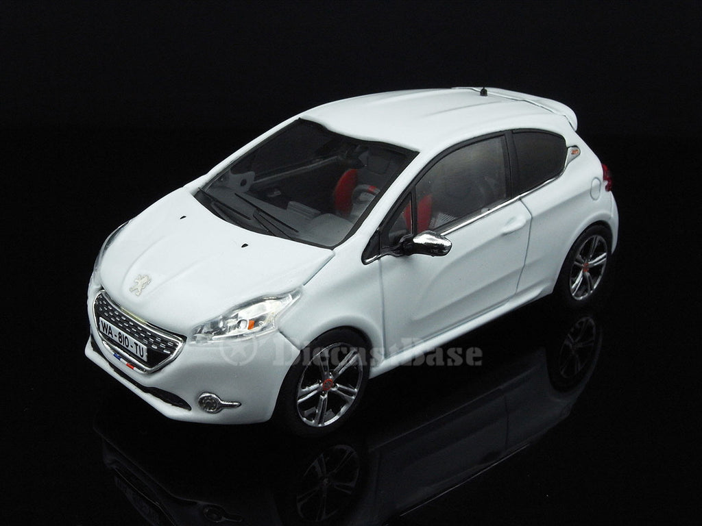 ixo moc174p 1 43 peugeot 208 gti 2013 white ixo models diecast model m. Black Bedroom Furniture Sets. Home Design Ideas