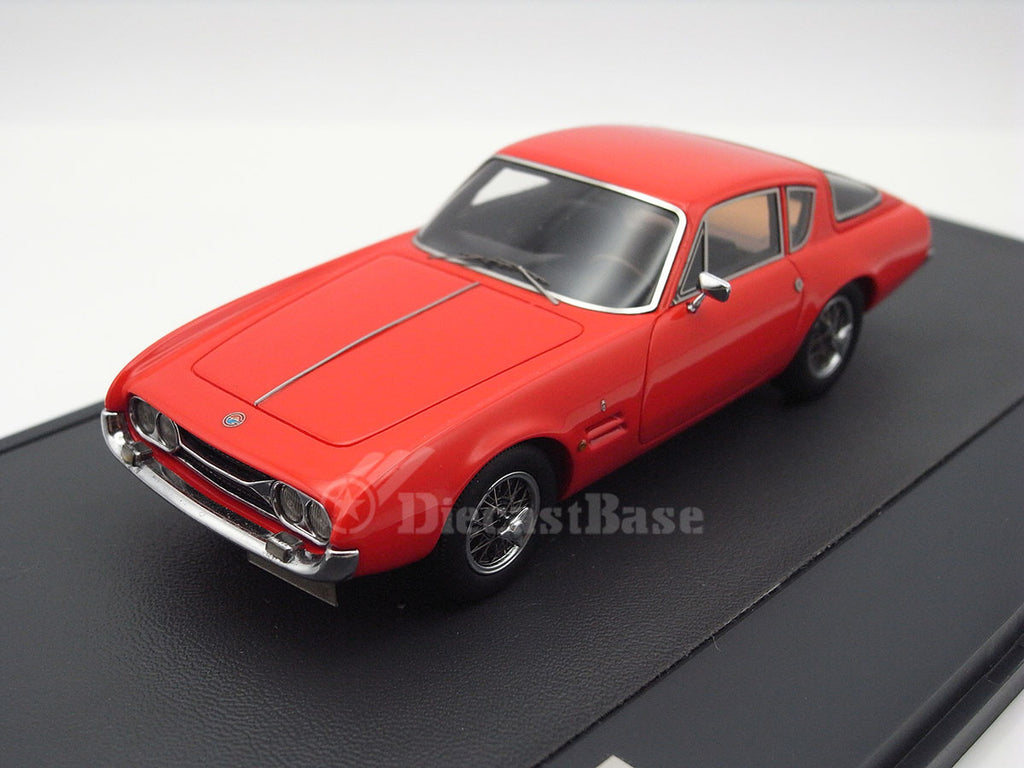 Matrix MX10701-012 1/43 Ghia 230S Coupe 1963 Red Matrix Scale Models Resin Model Road Car