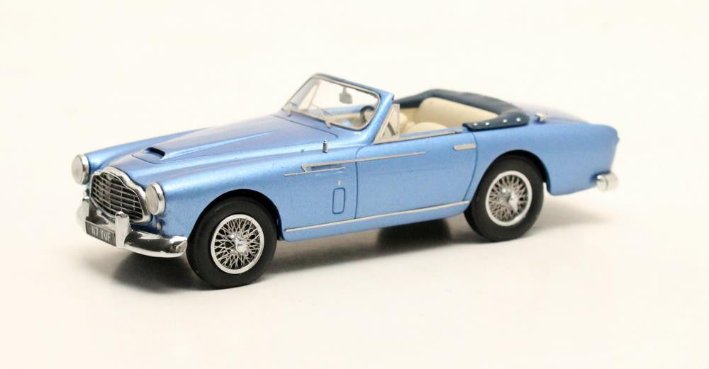 Matrix MX40108-021 1/43 Aston Martin DB 2-4 Bertone Cabriolet blue metallic 1953 Matrix Scale Models Exclusive Resin Model Road Car