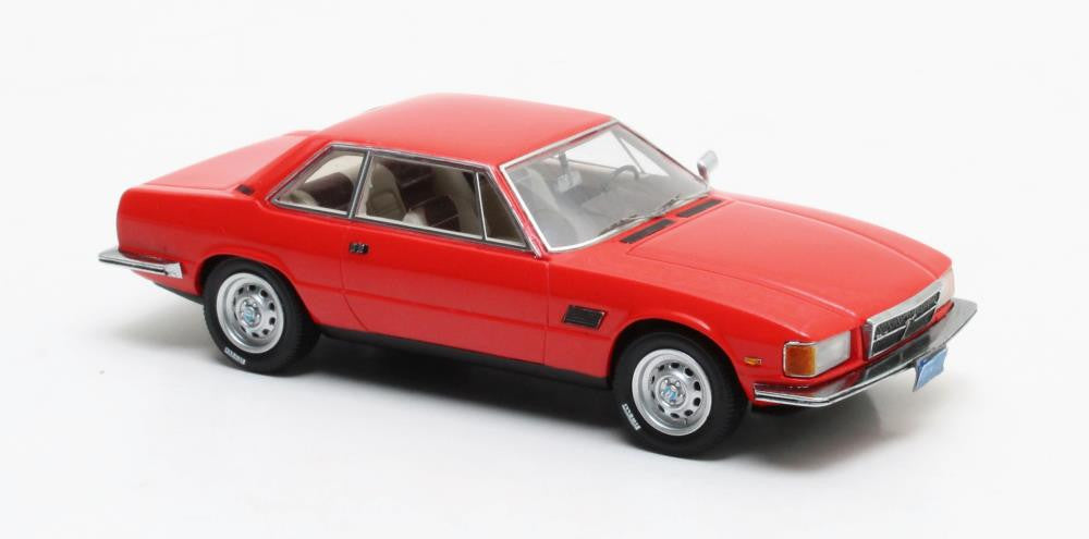Matrix MX40404-022 1/43 De Tomaso Longchamp Red 1972 Matrix Scale Models Exclusive Resin Model Road Car