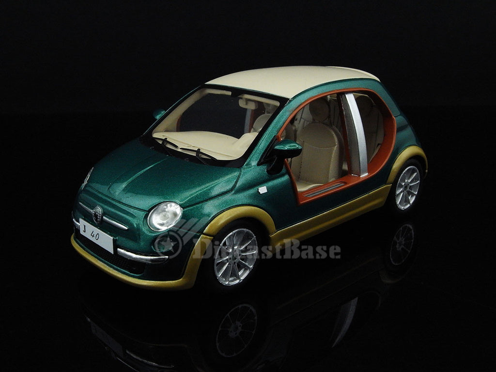 "Premium X PR0256 1/43 Fiat 500 Castagna EV ""Kadhafi"" 2009 Resin Model Road Car"