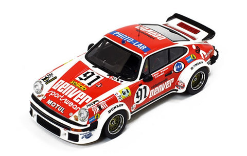 Premium X PR0417 1/43 Porsche 934 #91 24 Hour of Le Mans 1980 GT Class ASA Cachia Team Christian Bussi - Bernard Salam - Cyril Grandet LM Resin Model Racing Car