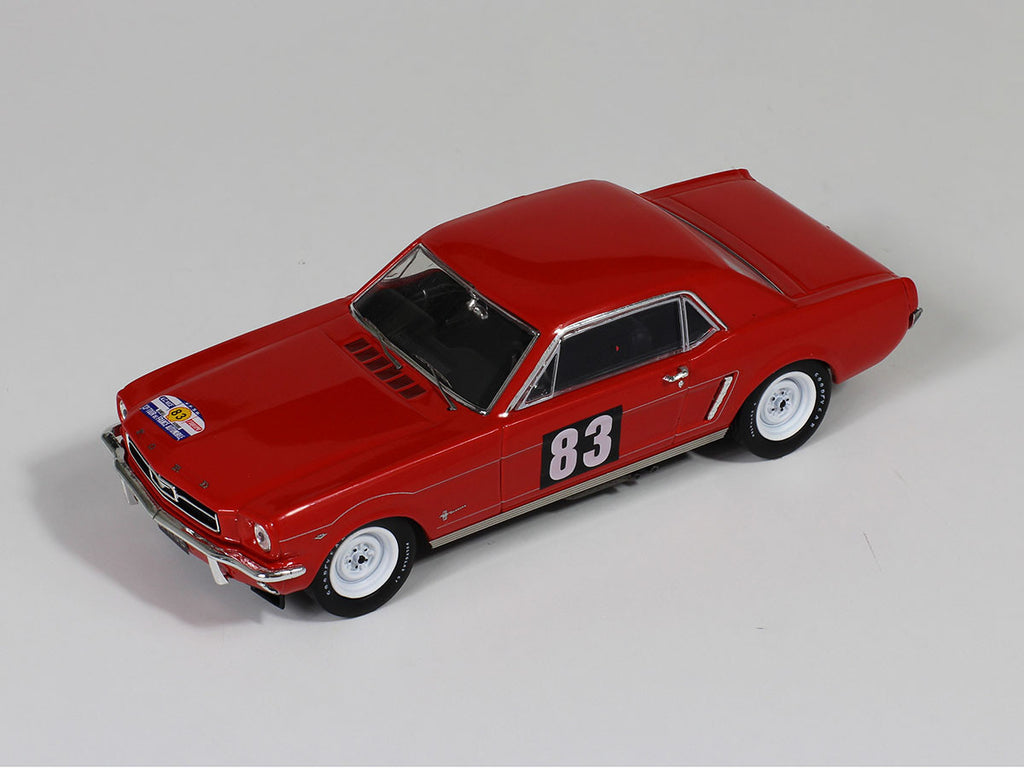 1 43 ford mustang premium x prd310 model racing car top view taken
