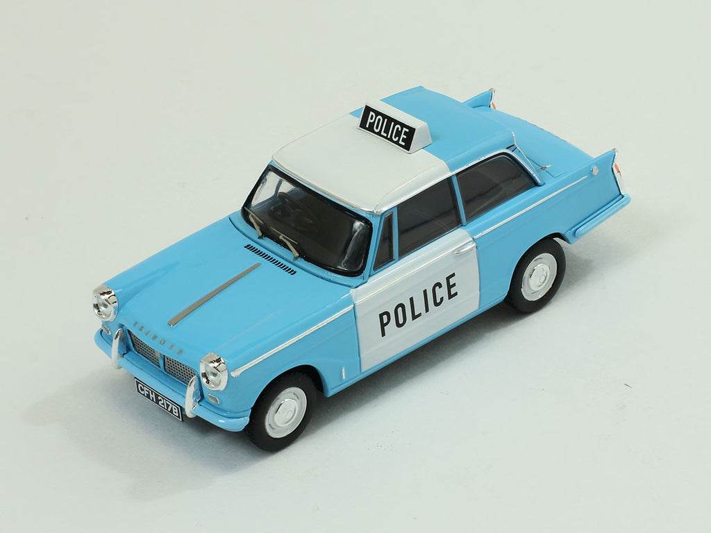 1/43 Triumph Herald Saloon Premium X PRD323  ~ top view ~ taken by DiecastBase