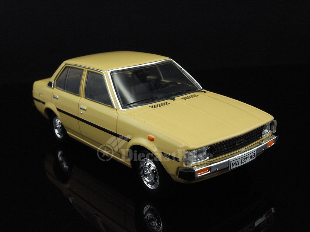 premium x prd354 1 43 toyota corolla e70 1979 beige diecast model japa. Black Bedroom Furniture Sets. Home Design Ideas