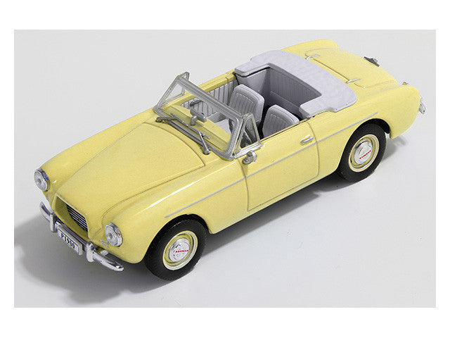 1/43 Volvo P1900 Sport Convertible Premium X PRD372  ~ top view ~ taken by DiecastBase