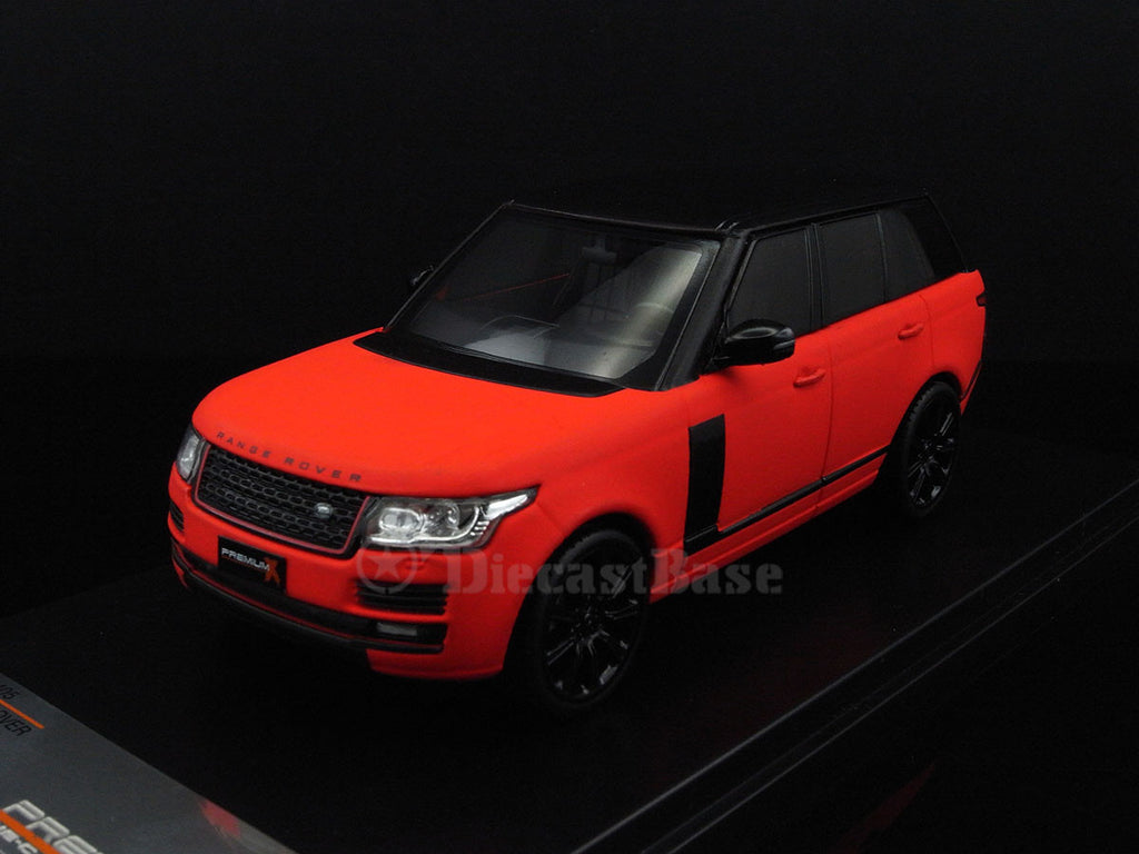 Premium X PRD405 1/43 Land Rover Range Rover 2013 Red Matt with Black Pack Diecast Model Road Car