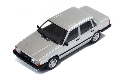 Premium X PRD438 1/43 Volvo 740 Turbo Silver 1985 Diecast Model Road Car