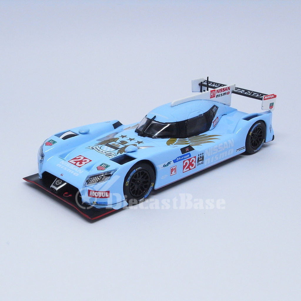 Premium X PRD519J 1/43 Nissan GT-R LM Nismo 2015 Manchester City F.C. Edition Japan Diecast Model Racing Car