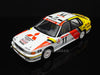 IXO RAC223 1/43 Mitsubishi Galant VR-4 No.11 Mitsubishi Ralliart Germany Team Tour de Corse - Rallye de France 1991 Ronald Holzer - Klaus Wendel IXO Models Diecast Rally Racing Car