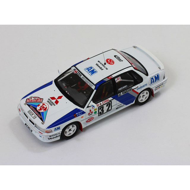 1/43 Mitsubishi Galant VR-4 Evo IXO RAC231  ~ top view ~ taken by DiecastBase