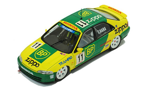 IXO RAC242 1/43 Honda Civic EG9 #11 (BP) T.Hara JTCC 1994 Rally Diecast Model Racing Car