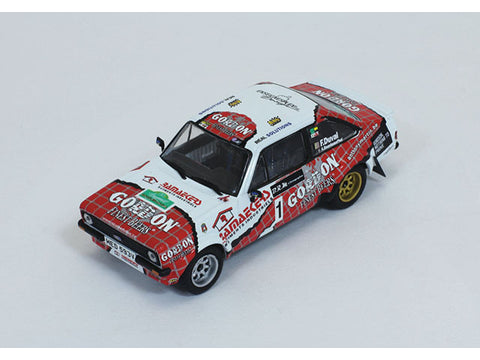 IXO RAC246 1/43 Ford Escort RS MKII #1 F.Duval - A.Bourdeaud'hui Winner Legend Boucles de Spa 2014 Rally Diecast Model Racing Car