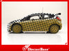 IXO RAM443 1/43 Ford Fiesta S2000 Test Car 2009 M.Wilson (Greystoke Forest) Diecast Model Racing Car