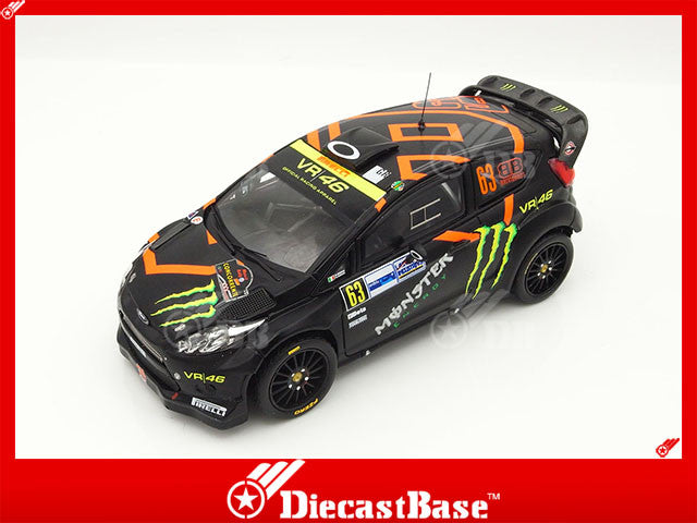 IXO RAM470 1/43 Ford Fiesta RS WRC #63 7th Monza Rally 2011 Roberto Brivio - Davide Brivio IXO Models Diecast Model Rally Racing Car