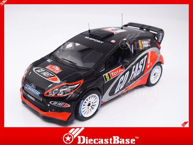 IXO RAM492 1/43 Ford Focus RS WRC No.9 Rally Monte Carlo 2012 M.Wilson - S.Martin IXO Models Diecast Model Rally Racing Car