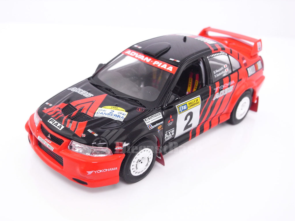 IXO RAM514 1/43 Mitsubishi Lancer EVO VI No.2 Rally of Canberra 1999 S