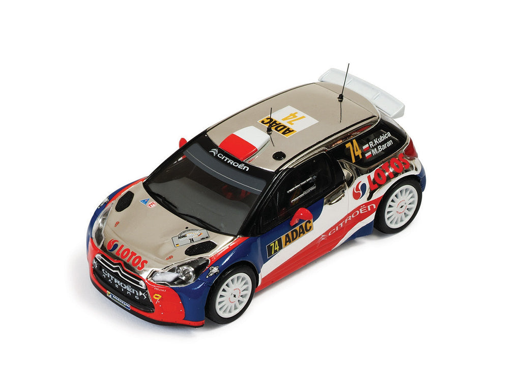 IXO RAM539 1/43 Citroen DS3 RRC #74 Germany Rally (ADAC Rallye Deutschland) 1st WRC2 2013 Robert Kubica - Maciek Baran IXO Models Diecast Model Rally Racing Car