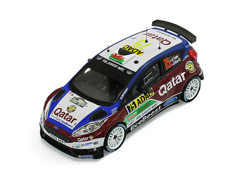 IXO RAM541 1/43 Ford Fiesta R5 #75 E.Evans - D.Barrit Rally Germany 2013 Diecast Model Racing Car