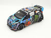 IXO RAM548 1/43 Ford Fiesta RS WRC #43 Hoonigan Racing Division 7th Rally Guanajuato Mexico 2013 Ken Block - Alex Gelsomino IXO Models Diecast Model Rally Racing Car