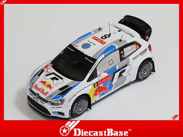 1/43 Volkswagen Polo R WRC IXO RAM549  ~ top view ~ taken by DiecastBase