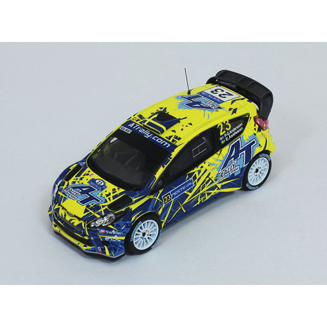 1/43 Ford Fiesta R5 IXO RAM543  ~ top view ~ taken by DiecastBase
