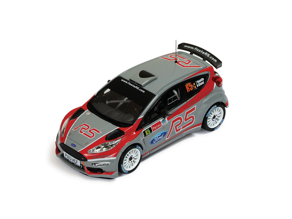 IXO RAM554 1/43 Ford Fiesta R5 Geko Ypres Rally 2013 M-Sport World Rally Team - Thierry Neuville - Nicolas Gilsoul VIP Car IXO Models Diecast Model Rally Racing Car