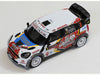 1/43 Mini John Cooper Works WRC IXO RAM556  ~ top view ~ taken by DiecastBase