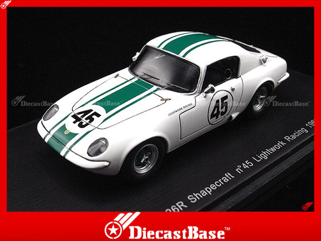 Spark S0268 1/43 Lotus ELAN 26R Shapecraft No.45 Lightwork Racing 1963 1:43 Diecast Model Racing Car