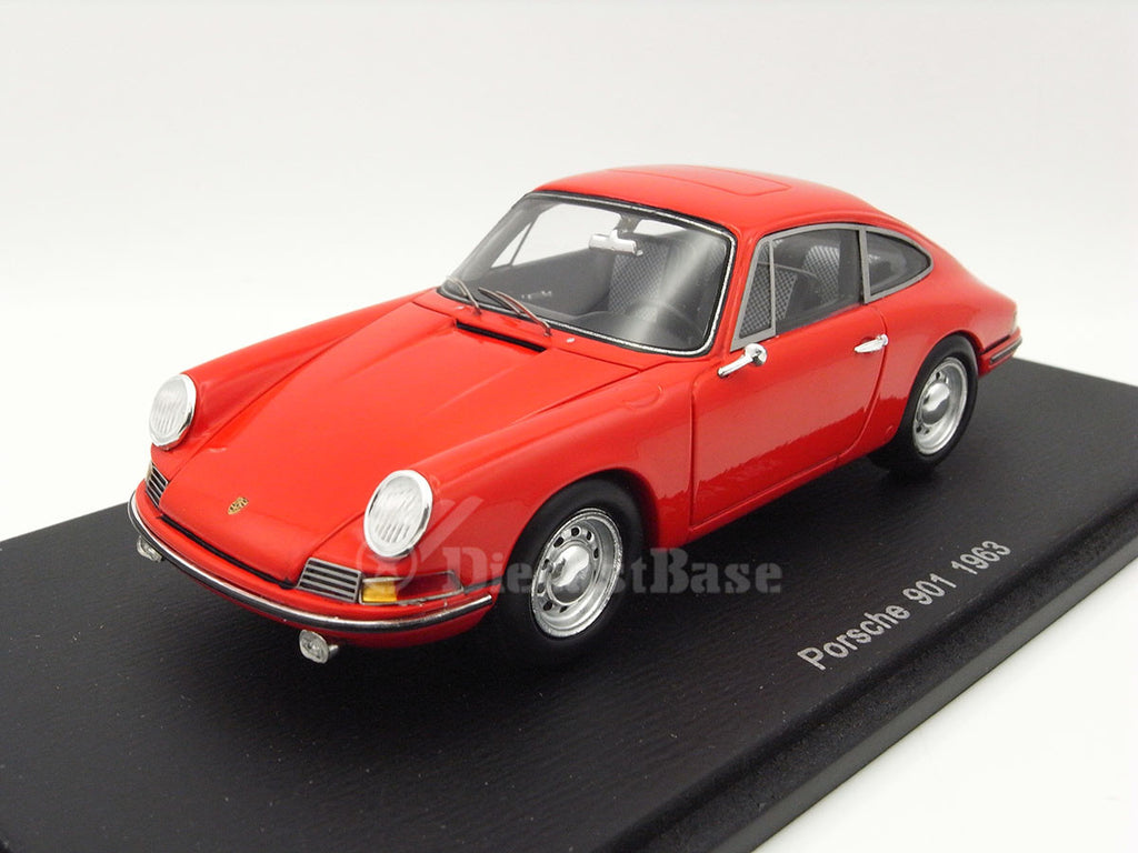 Spark S1369 1/43 Porsche 901 Red Resin Model Passenger Road Car