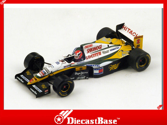 1/43 Lotus 109 Spark S1670  ~ top view ~ taken by DiecastBase