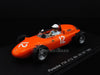 Spark S1866 1/43 Porsche 718 #12 United States Grand Prix 1963 Carel Godin de Beaufort Resin Model Formula One F1 GP Racing Car